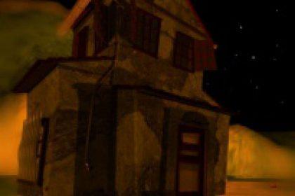 casa rancho animacion 3d