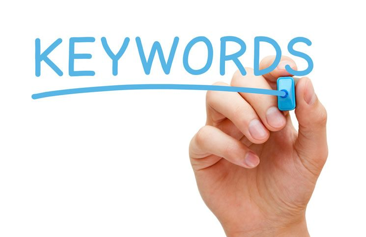 como escojer las keywords exactas