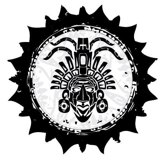 diseño de isologo azteka