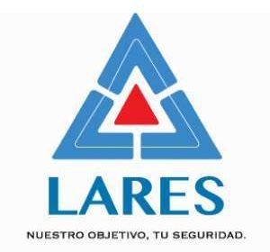 diseño de logo lares seguridad