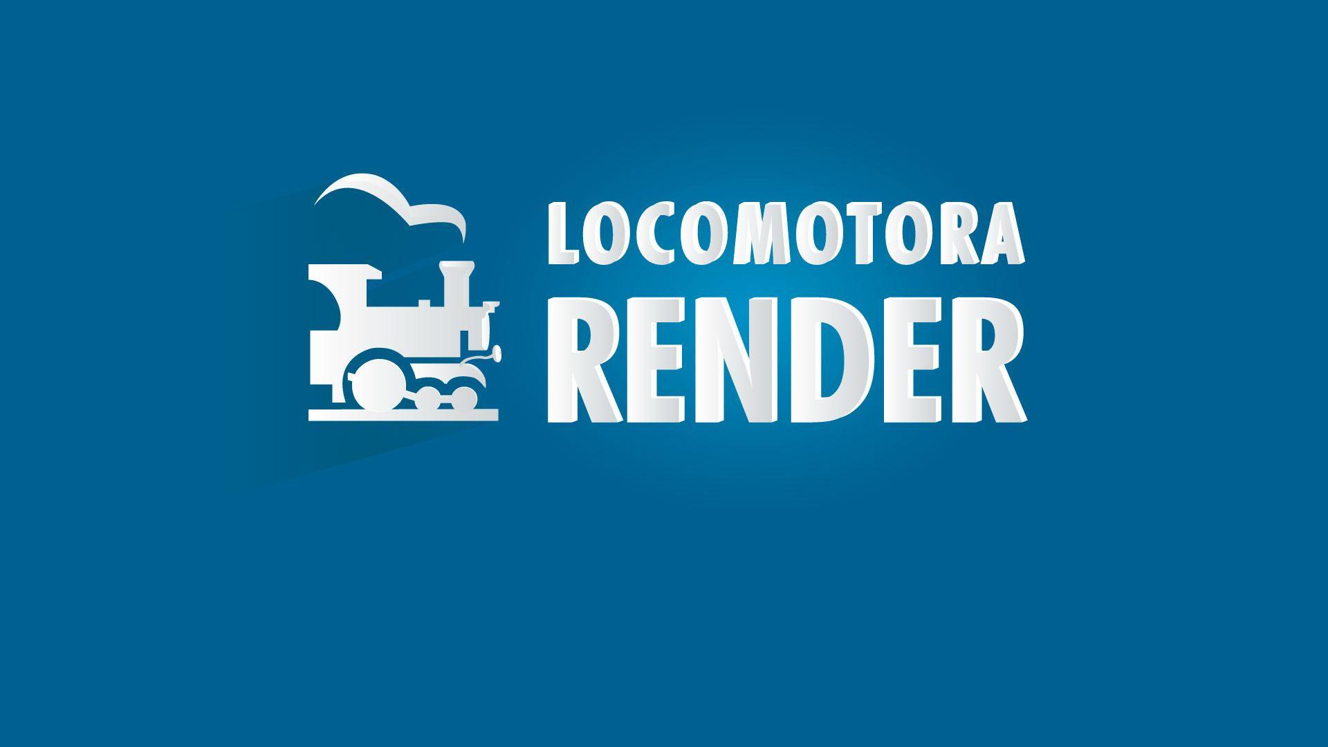 locomotora render background