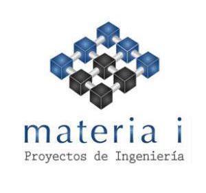 diseño de logo materia i