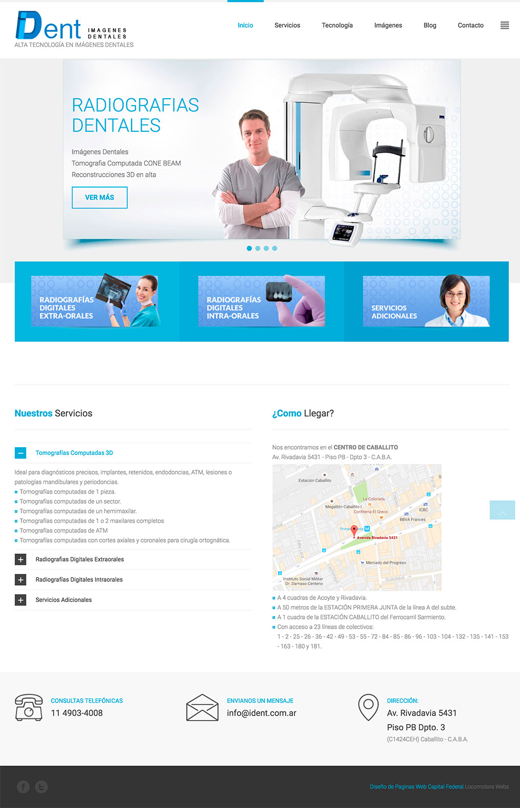 diseño de paginas web ident