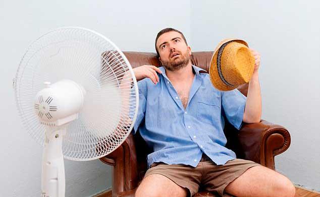 calor en zona oeste
